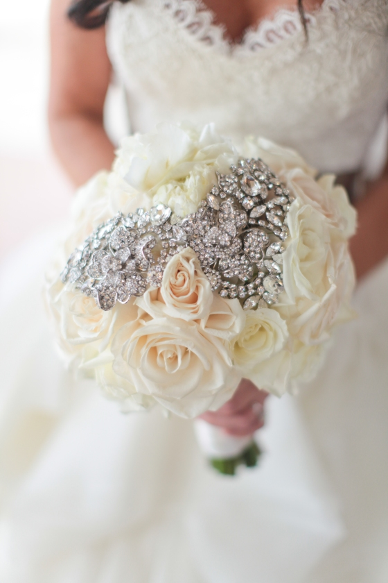 Broach on bouquet